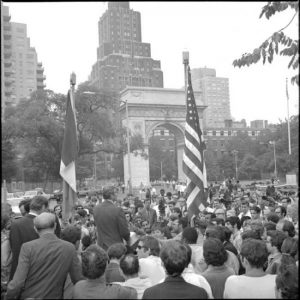 50 Years Since Groundbreaking Ceremony Heralding 1969 Renovation of Washington Square Park