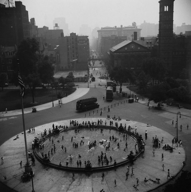 Washington Square Park as Pool 1935