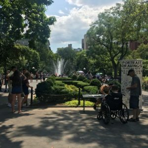 A Look at a Mid-Summer Afternoon Washington Square Park [Photos]
