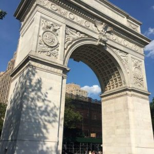 Scenes from a City Park: Late August Washington Square